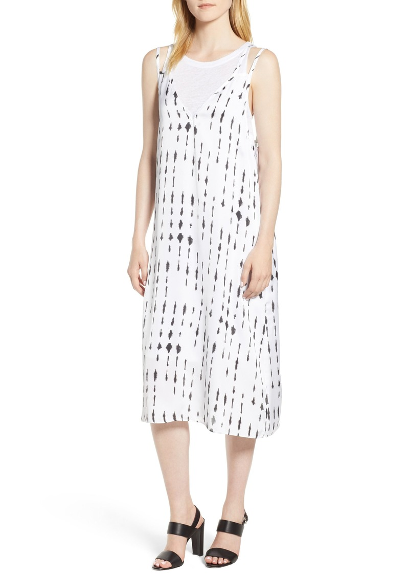Kenneth Cole Two-Layer Tank Dress