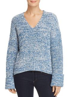 Kenneth Cole V-Neck Marled Sweater