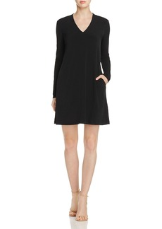 Kenneth Cole V-Neck Shift Dress