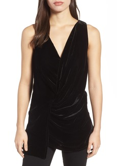 Kenneth Cole Velvet Drape Tank Top