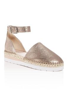 Kenneth Cole Women's Babbot Leather d'Orsay Espadrille Platform Sandals