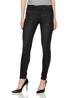 Kenneth Cole Women's Black Studded Jean Tuxedo wash