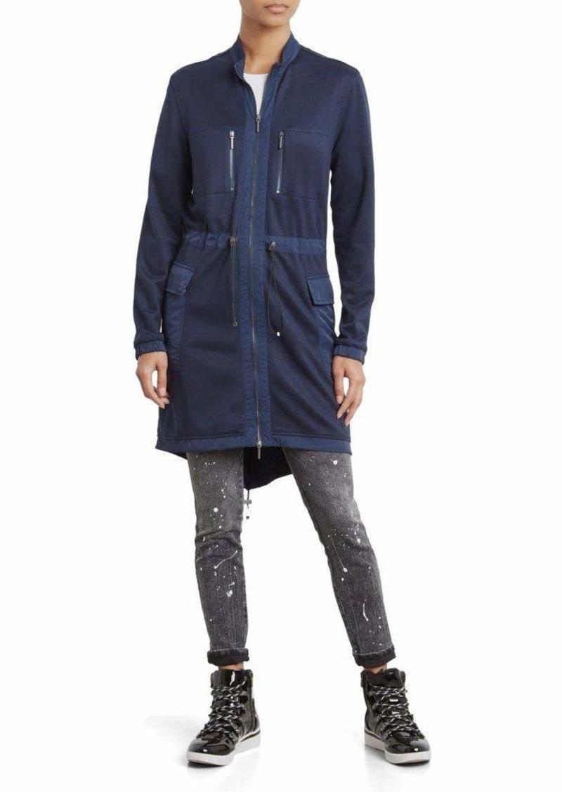 Kenneth Cole Women's Bomber Utility Dress  M