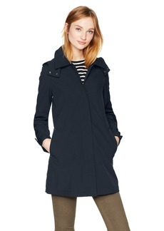 Kenneth Cole Women's Bonded Rain Jacket  M