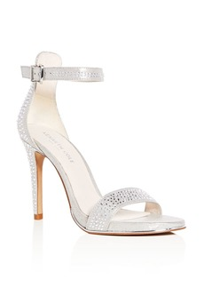 Kenneth Cole Women's Brooke Shine Embellished Ankle Strap High Heel Sandals