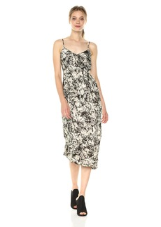 Kenneth Cole Women's Camisole Flounce Dress Camofoliage-Muslin
