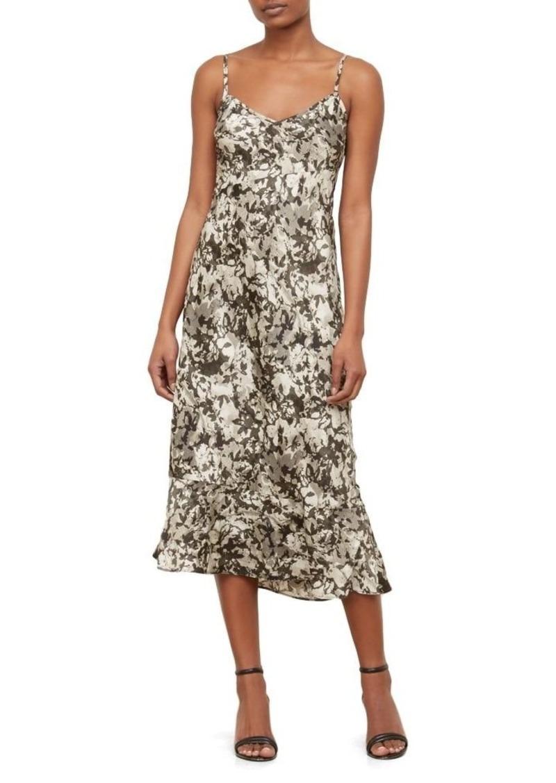 Kenneth Cole Women's Camisole Flounce Dress Camofoliage-Muslin