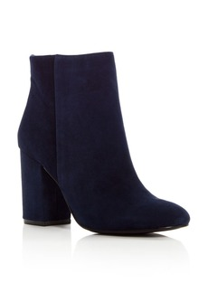 Kenneth Cole Women's Caylee Suede High Block Heel Booties