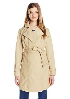 Kenneth Cole Women's Classic Trench Coat