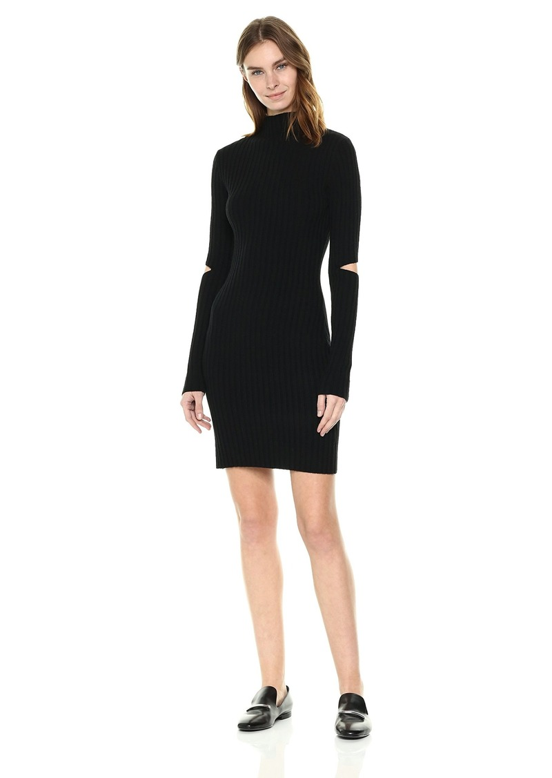 Kenneth Cole Women's Cold Elbow Sweater Dress  L