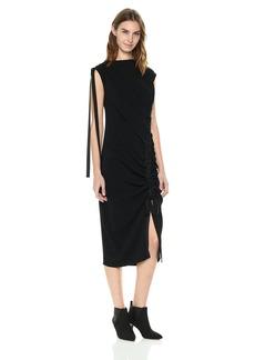 Kenneth Cole New York Curved Drawstring Dress