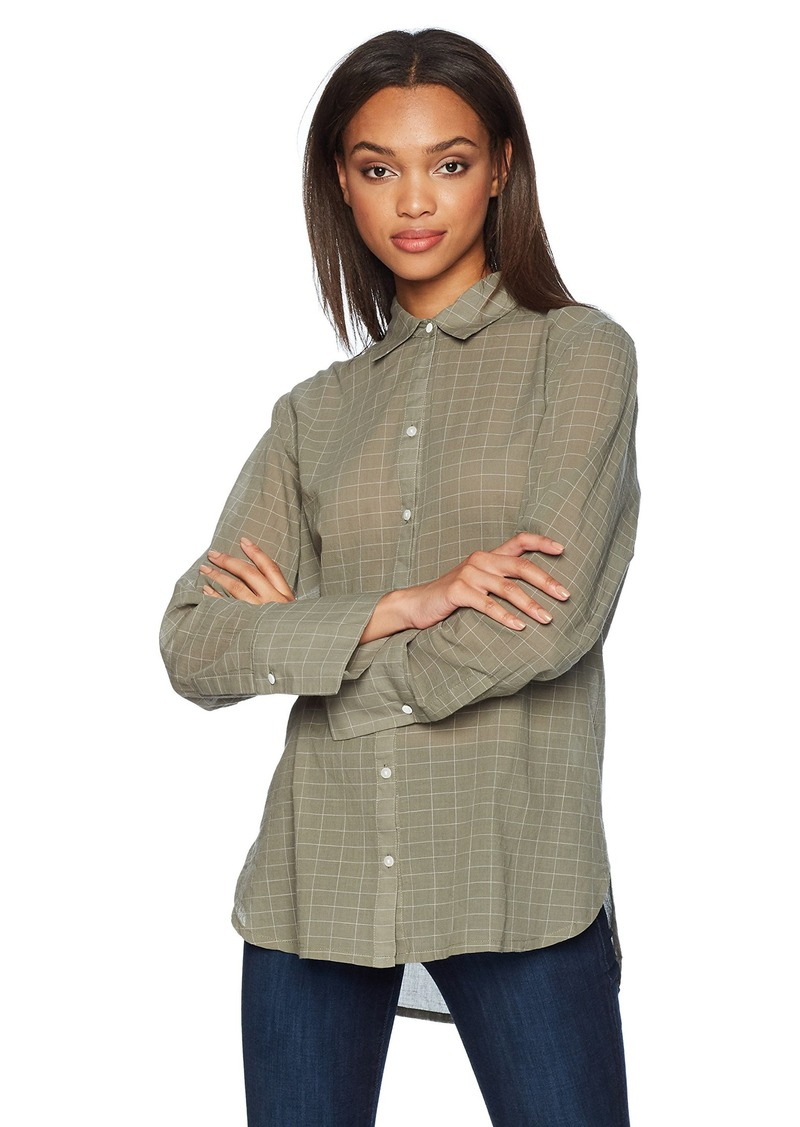 KENNETH COLE Women's Double Cuff Button Down