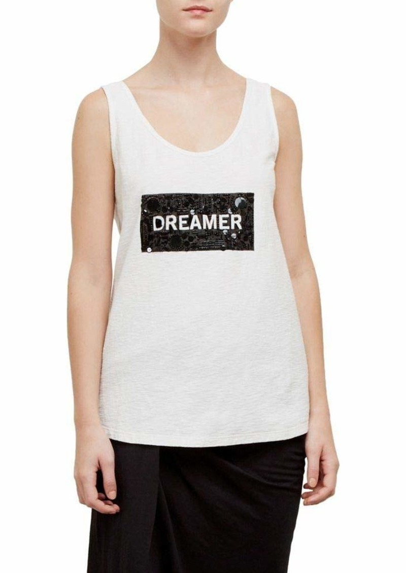 Kenneth Cole Women's Dreamer ow Scoop Embellished Tank