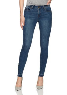 Kenneth Cole Women's Frayed Hem Skinny Jean Madison-Wash