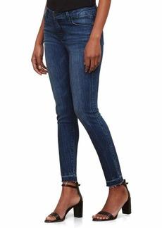 Kenneth Cole Women's Frayed Hem Skinny Jean Madison-Wash