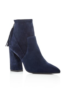 Kenneth Cole Women's Gracelyn Suede High Heel Booties