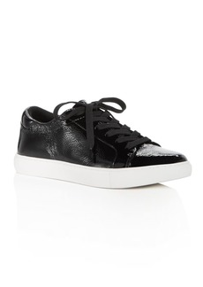 Kenneth Cole Women's Kam Techni-Cole Patent Leather Lace Up Sneakers