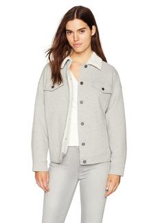 Kenneth Cole Women's Knit Trucker Jacket  M