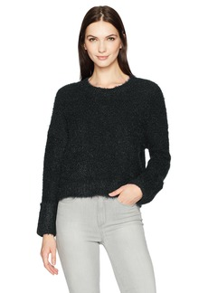 Kenneth Cole Women's Large Cuff Crop Sweater  M