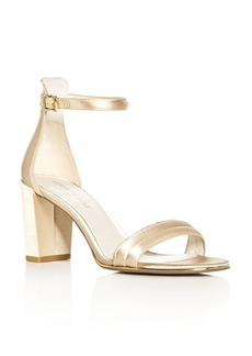 Kenneth Cole Women's Lex Satin Ankle Strap High Heel Sandals