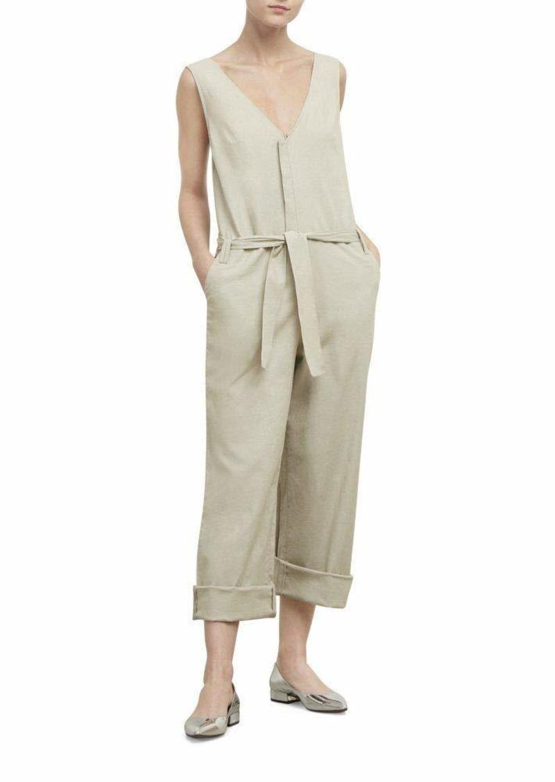 Kenneth Cole Women's Linen Jumpsuit  XS