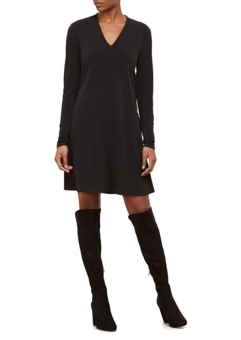 Kenneth Cole Women's Long Sleeve V-Neck Dress  XL