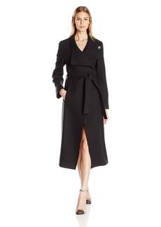 Kenneth Cole Women's Maxi Wrap Coat