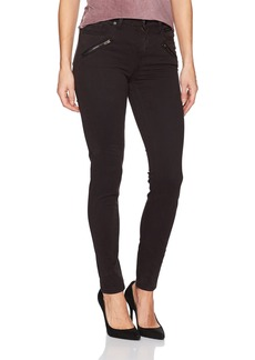 Kenneth Cole Women's Moto Skinny Jean With Zip Pockets
