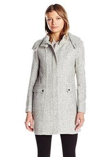 Kenneth Cole Women's Novelty Wool Duffle