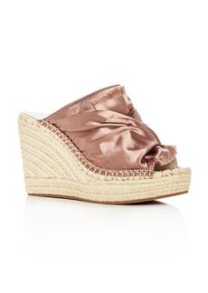 Kenneth Cole Women's Odele Espadrille Wedge Slide Sandals