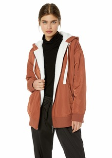 Kenneth Cole Women's Outerwear Hoodie  XL