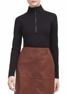 Kenneth Cole Women's Ponte Turtle Neck TOP