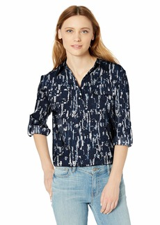 Kenneth Cole Women's Popover BF Tunic  L