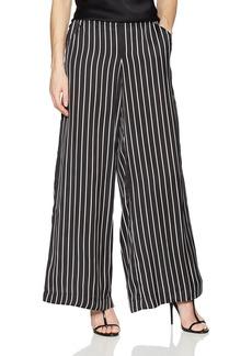 Kenneth Cole Women's Pull on Wide Leg Trouser