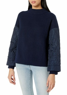 Kenneth Cole Women's Quilted Sleeve  S