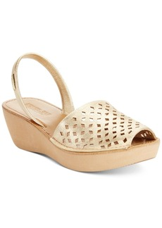 Kenneth Cole Women's Reaction Fine Glass 2 Platform Wedge Sandals Women's Shoes