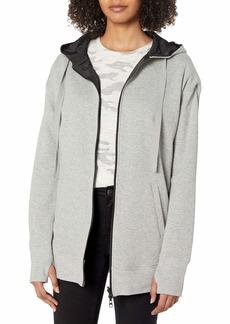 Kenneth Cole Women's Reversible Outerwear Hoodie  XS