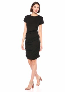 Kenneth Cole Women's Ruched Knit Dress  M
