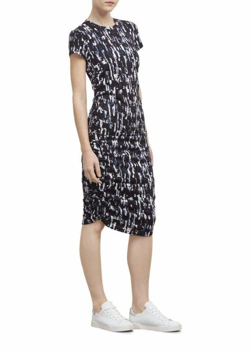 Kenneth Cole Women's Ruched Knit Dress  XL