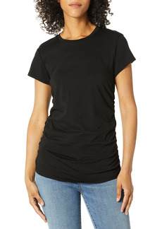 Kenneth Cole Women's Ruched Knit TOP  M