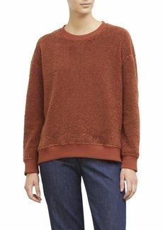 Kenneth Cole Women's Shearling Sweatshirt