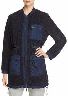 Kenneth Cole Women's Sherpa Jacket  M