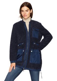 Kenneth Cole Women's Sherpa Jacket  XL