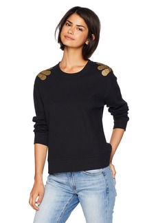 Kenneth Cole Women's Sweatshirt with Embellishment  XL