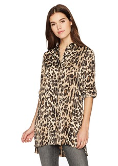 Kenneth Cole Women's Tunic Shirt  L
