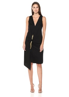 Kenneth Cole Women's Twist Wrap Dress  XL