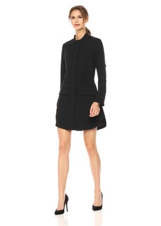 Kenneth Cole Women's Utility Shirt Dress  L