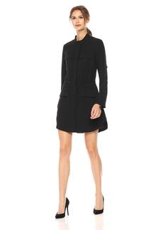 Kenneth Cole Women's Utility Shirt Dress  M