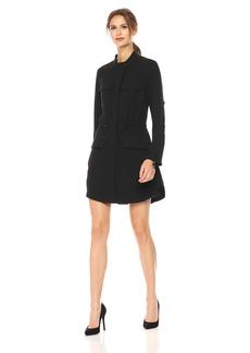 Kenneth Cole Women's Utility Shirt Dress  S