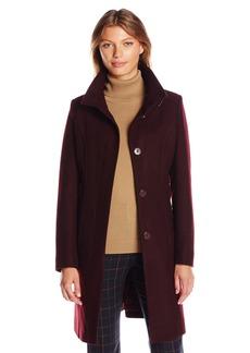 Kenneth Cole Women's Walker Wool Coat